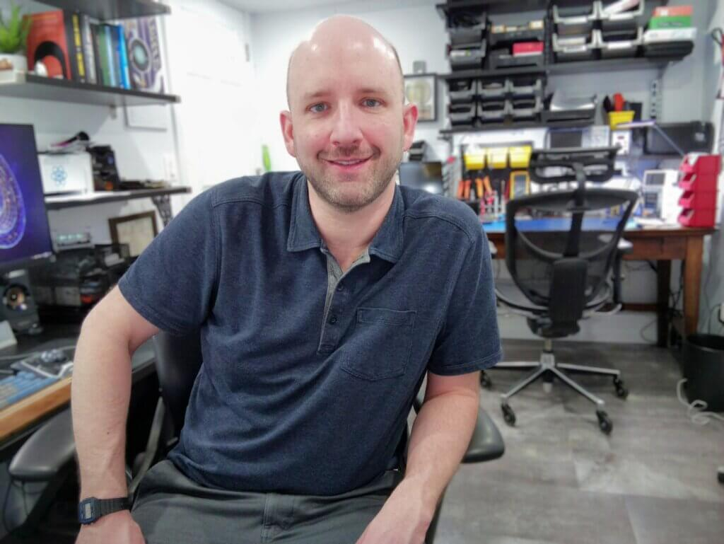 Photo of Adam Casto, proprietor of Iptic Solutions